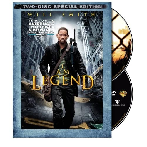 Image 0 of I AM Legend Widescreen On DVD With Will Smith