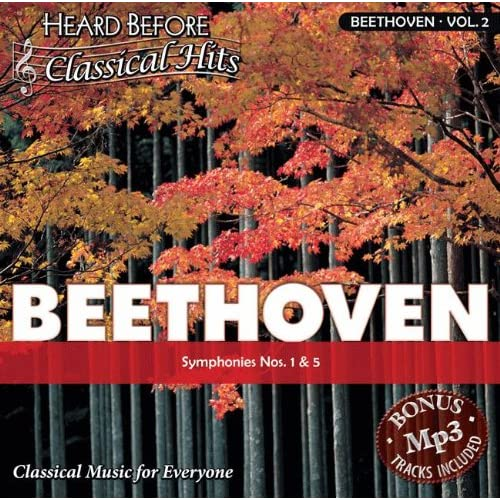 Image 0 of Beethoven [Vol 2]: Symphony No 1 5 By Ludwig Van Beethoven On Audio CD 2005