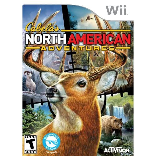 Image 0 of Cabela's North American Adventures For Wii And Wii U Shooter