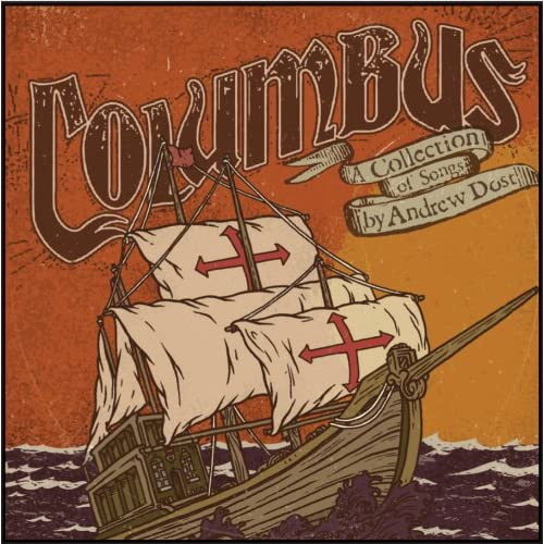 Columbus On Vinyl Record By Andrew Dost