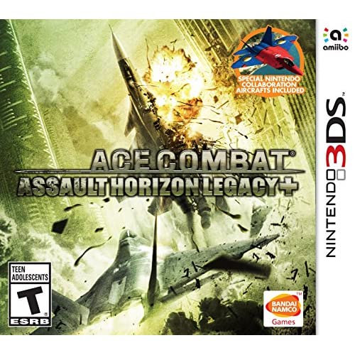Ace Combat Assault Horizon Legacy For 3DS With Manual and Case