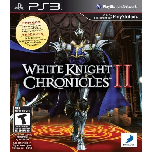 White Knight Chronicles II For PlayStation 3 PS3 RPG