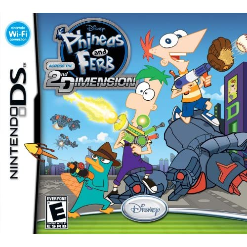 Image 0 of Phineas And Ferb: Across The 2nd Dimension For Nintendo DS DSi 3DS 2DS Disney