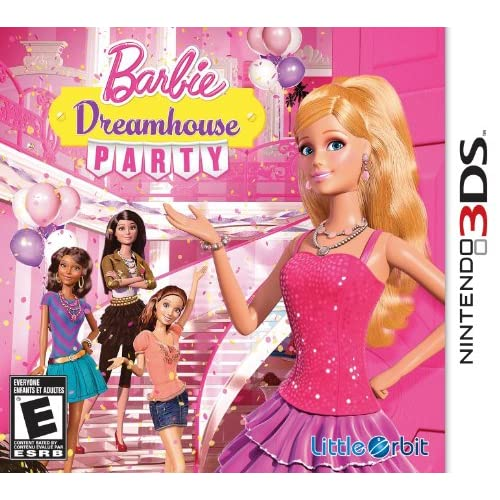 Barbie Dreamhouse Party Nintendo For 3DS