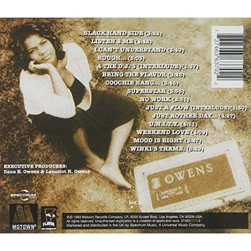 Image 2 of Black Reign By Queen Latifah On Audio CD 1993 Album Import