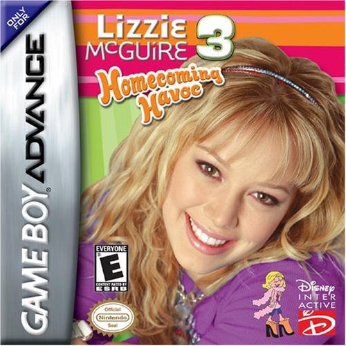 Lizzie Mcguire 3 GBA For GBA Gameboy Advance