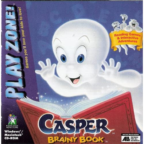 Casper Brainy Book PC/Mac Software