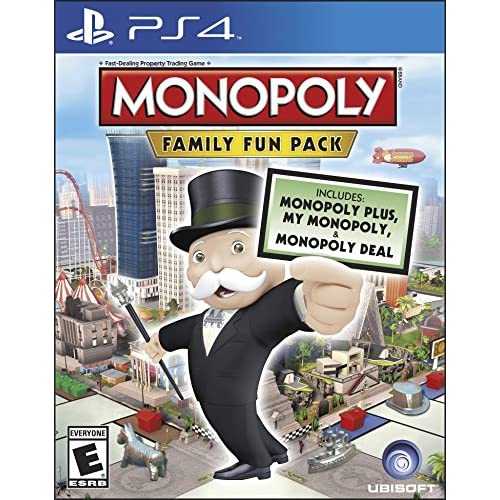 Monopoly Family Fun Pack Standard Edition For PlayStation 4 PS4 Board Games
