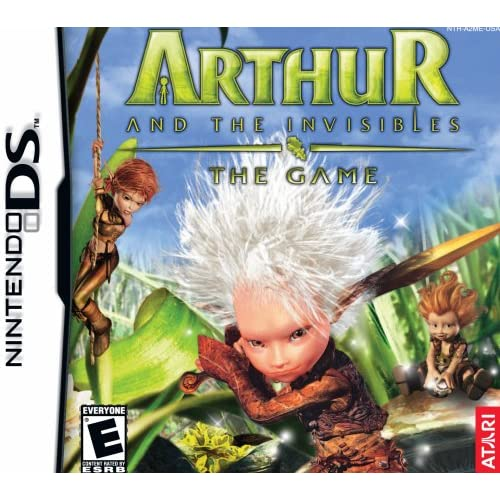 Arthur And The Invisibles For Nintendo DS DSi 3DS 2DS With Manual and Case