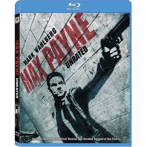 Image 0 of Max Payne Unrated Edition Blu-Ray On Blu-Ray With Mark Wahlberg