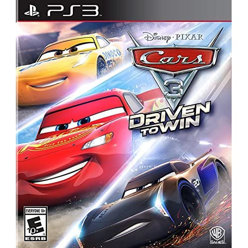 Cars 3: Driven To Win For PlayStation 3 PS3 Racing