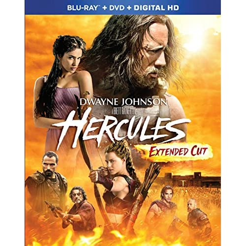 Image 0 of Hercules 2014 Blu-Ray On Blu-Ray With Dwayne Johnson