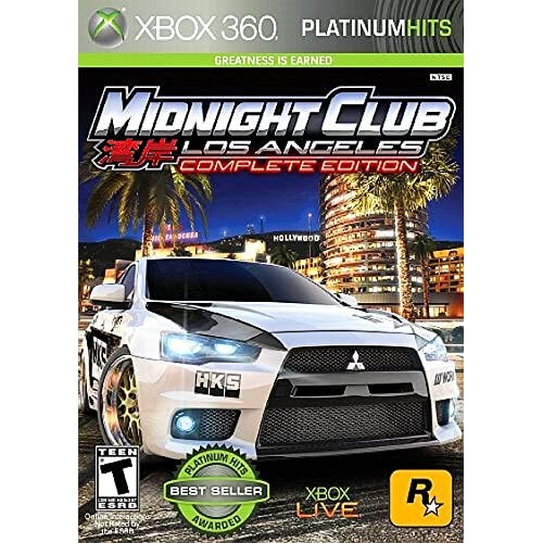 Image 0 of Midnight Club: Los Angeles Platinum Hits For Xbox 360 Fighting