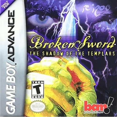 Broken Sword: The Shadow Of The Templars For GBA Gameboy Advance