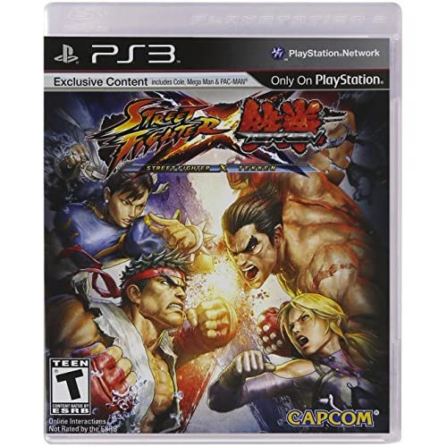 Street Fighter X Tekken For PlayStation 3 PS3 Fighting With Manual and Case