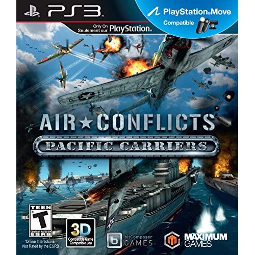 Air Conflicts Pacific Carriers For PlayStation 3 PS3 Flight