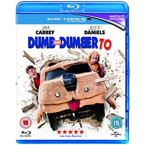 Dumb And Dumber To Blu-Ray 2014 On Blu-Ray