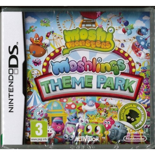 Image 0 of Moshi Monsters Moshlings Theme Park For Nintendo DS DSi 3DS 2DS