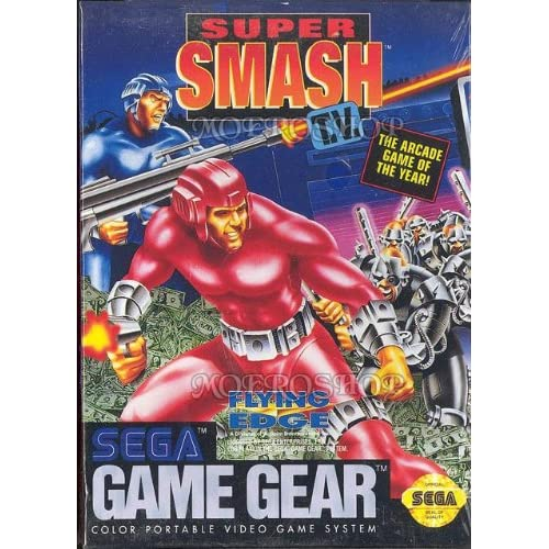 Super Smash TV For Sega Game Gear Vintage