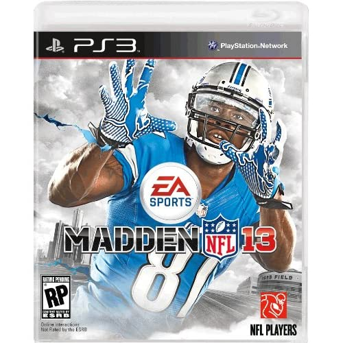 Madden NFL 13 PS3 For PlayStation 3 Football