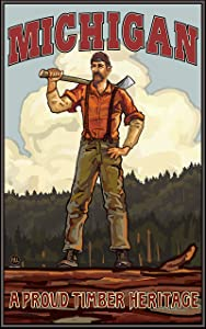 Michigan Lumberjack poster