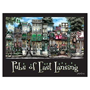 Pubs of East Lansing poster