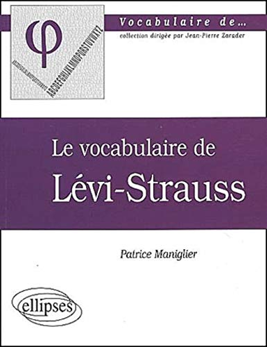 Le vocabulaire de Lévi-Strauss
