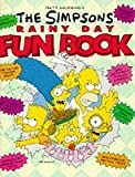 The Simpsons Rainy Day Fun Book - book cover picture