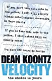 Velocity by Dean Koontz