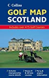 Golf Map of Scotland