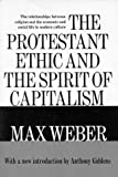 Protestant Ethic and the Spirit of Capitalism - book cover picture