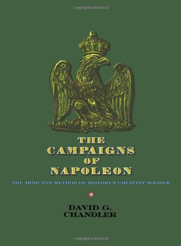The Campaigns of Napoleon Book Cover Picture