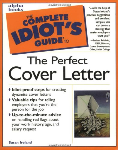 the perfect cover letter susan ireland