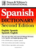 Simon & Schuster's International Spanish Dictionary - book cover picture