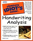 The Complete Idiot's Guide to Handwriting Analysis - book cover picture