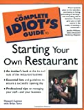 Buy Complete Idiot's Guide to Starting a Restaurant from Amazon
