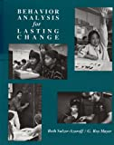 Behavior Analysis for Lasting Change - book cover picture