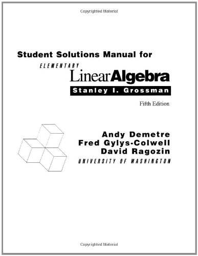 linear algebra solution manual pdf