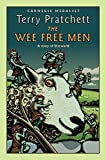 Book Cover: The Wee Free Men by Terry Pratchett