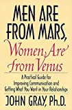 Book Cover: Men Are From Mars, Women Are From Venus By John Gray