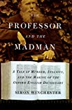 The Professor and the Madman - book cover picture