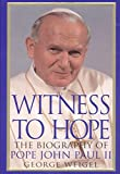 Witness to Hope: The Biography of Pope John Paul II - book cover picture