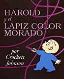 Harold y el lapiz color morado - book cover picture