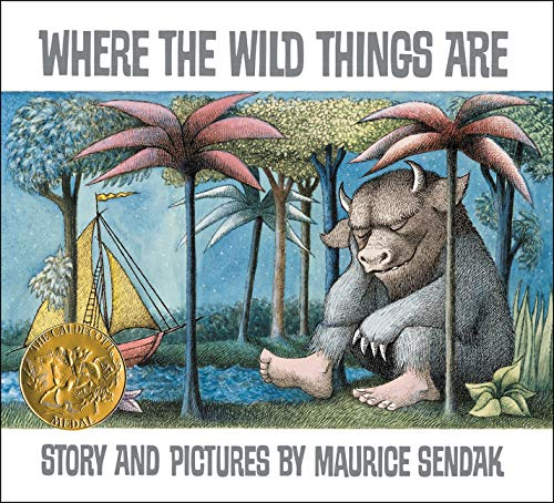 Coiver of Maurince Sendak's book Where the Wild Things Are