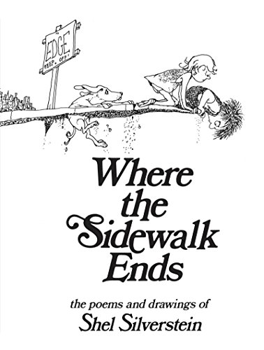 Where the Sidewalk Ends Chapter Book by Shel Silverstein