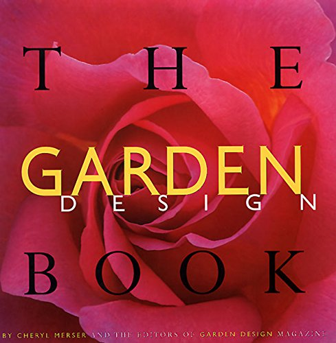 The Garden Design Book  (Hardcover, 1997) Author: Cheryl Merser