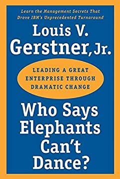Gerstner's Who Says Elephants Can't Dance