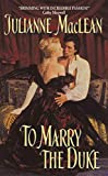 To Marry the Duke - book cover picture