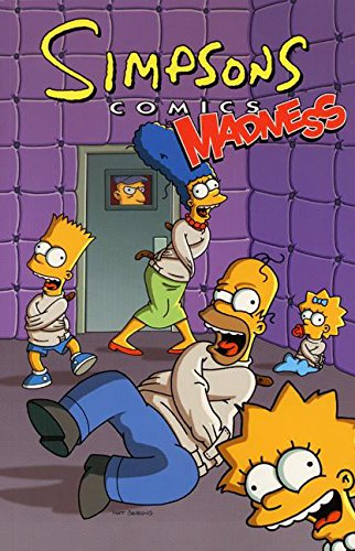 Simpsons Comics Madness cover