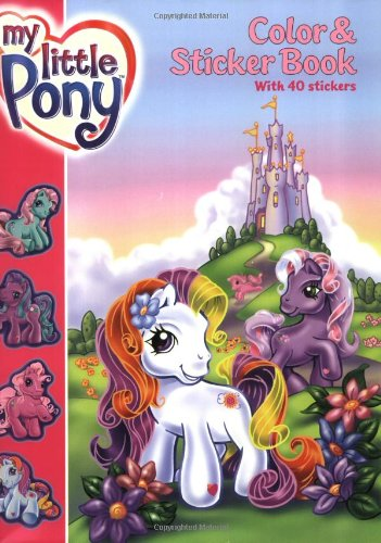 my little pony coloring book. My Little Pony Color amp; Sticker